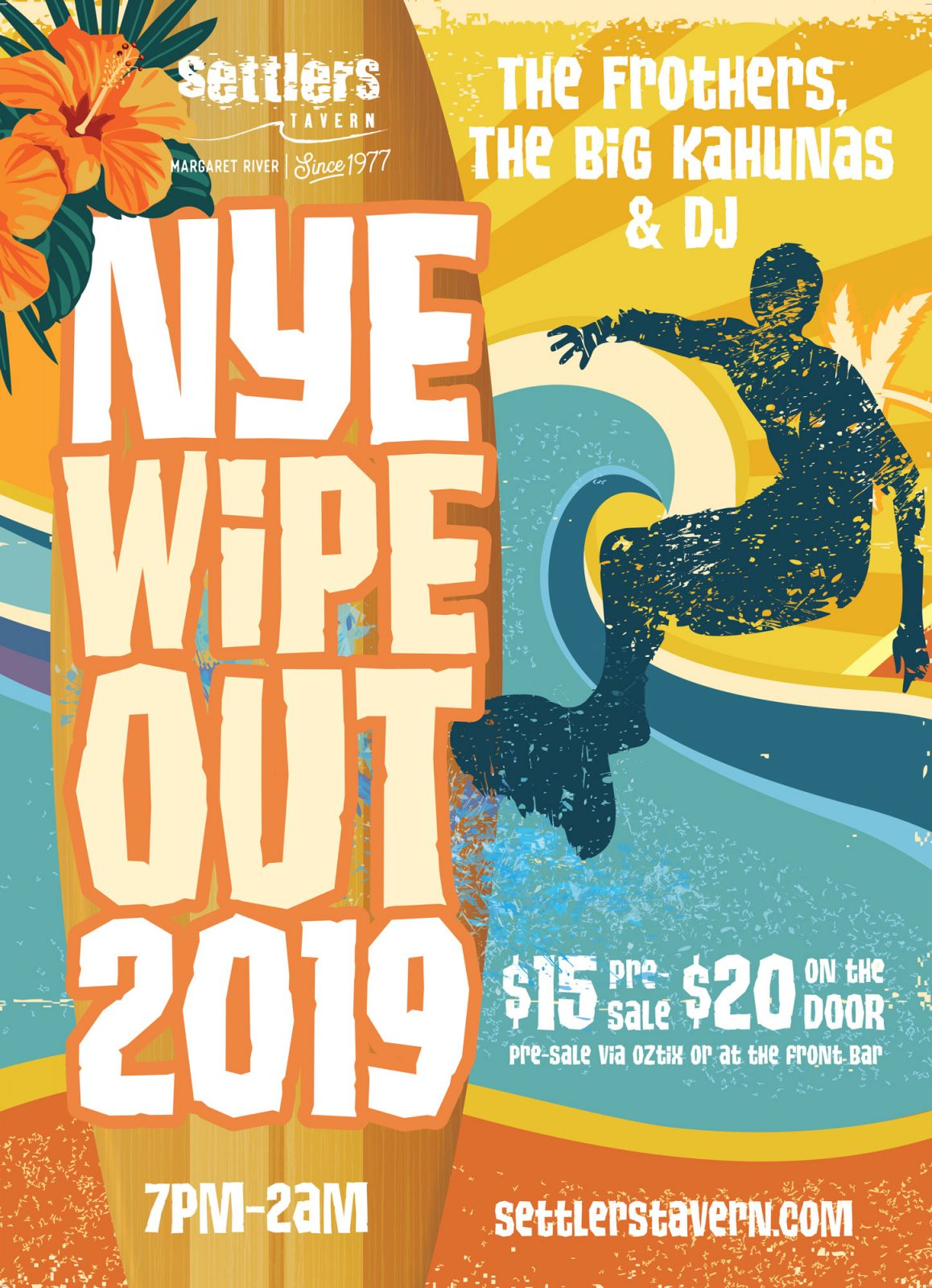 Ney Years Eve Wipeout Party Poster