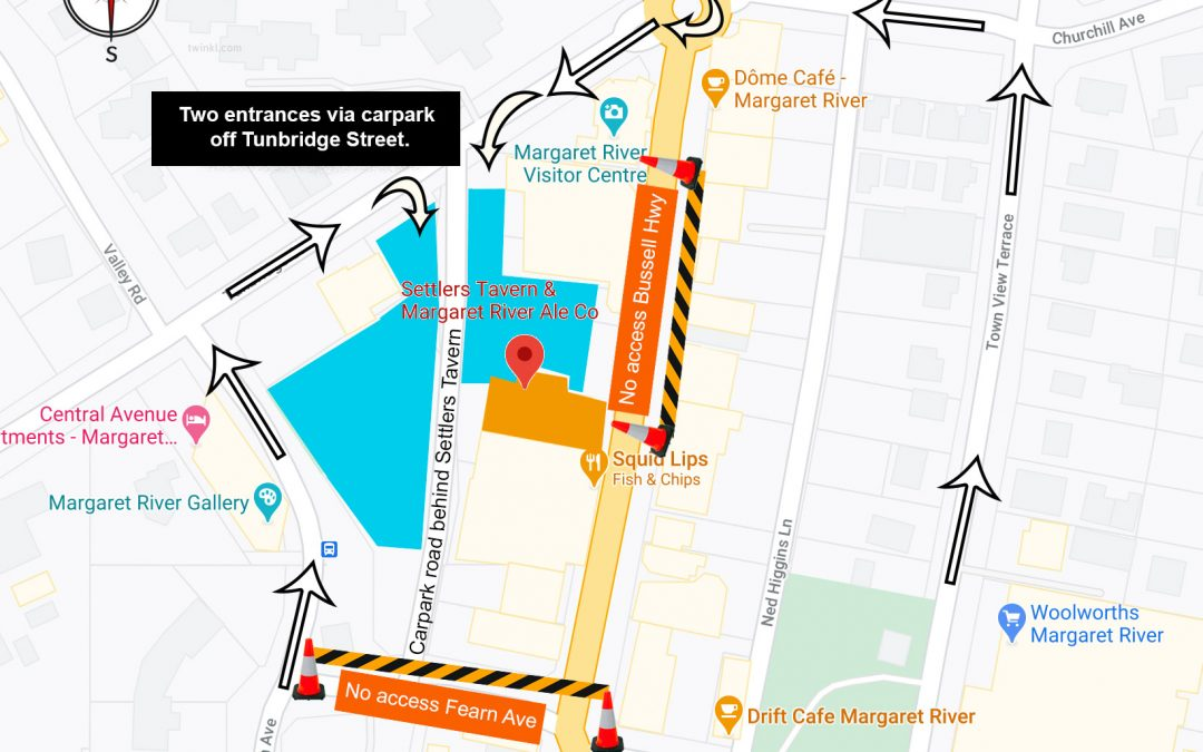Map to carparks