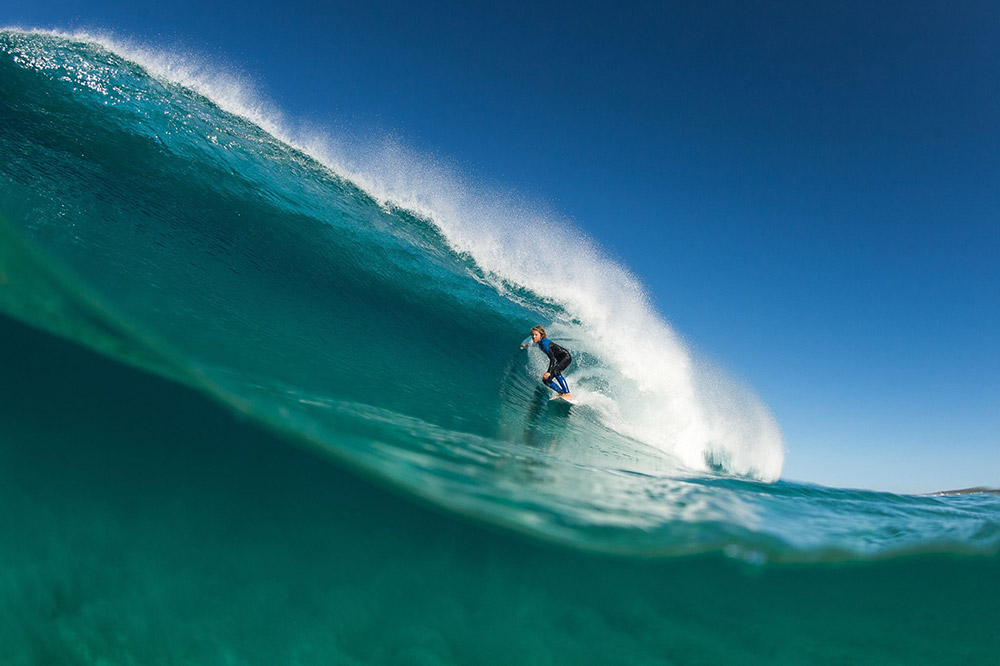 Surfing in Margaret River - Photo Elelments