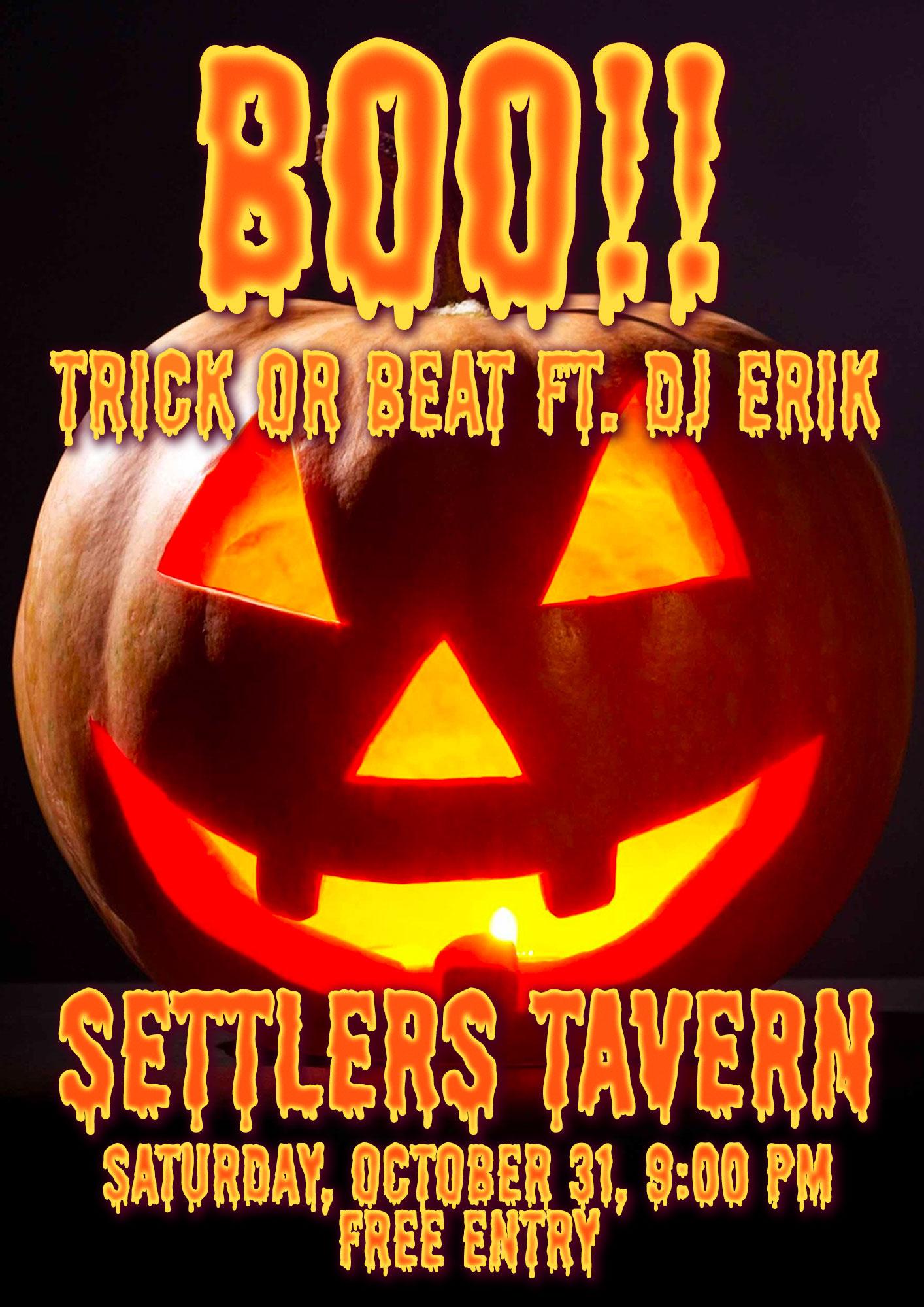 Halloween at Settlers Tavern